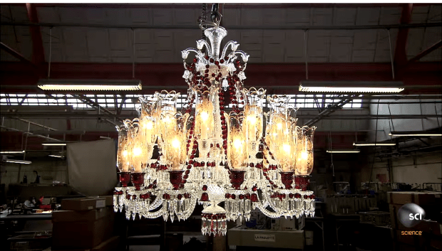 Fresh finishedchandelier
