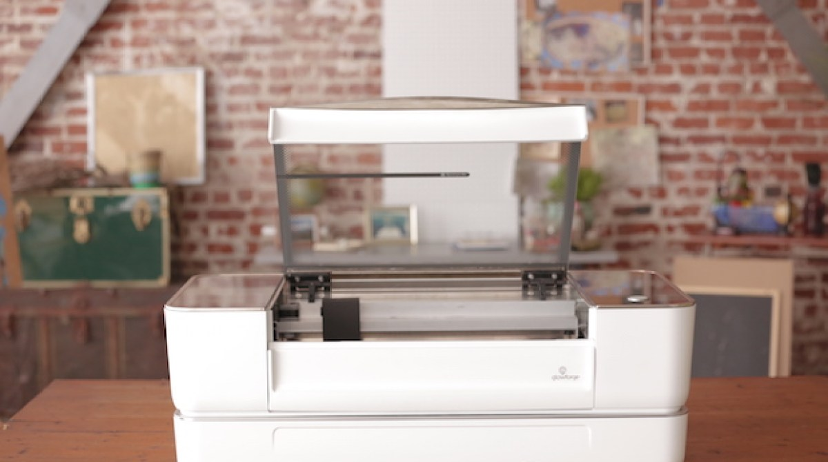 Here's All the Specs for Glowforge's New Desktop Laser Cutter