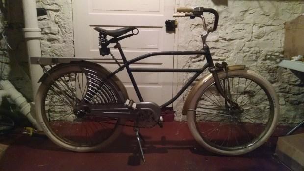 Night bike with Seat