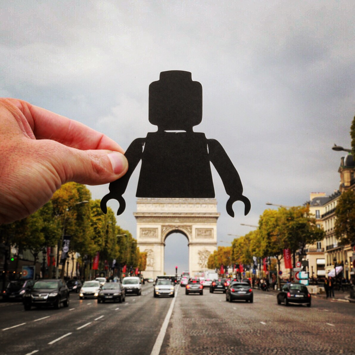 Photographer Whimsically Augments Reality with Papercuts