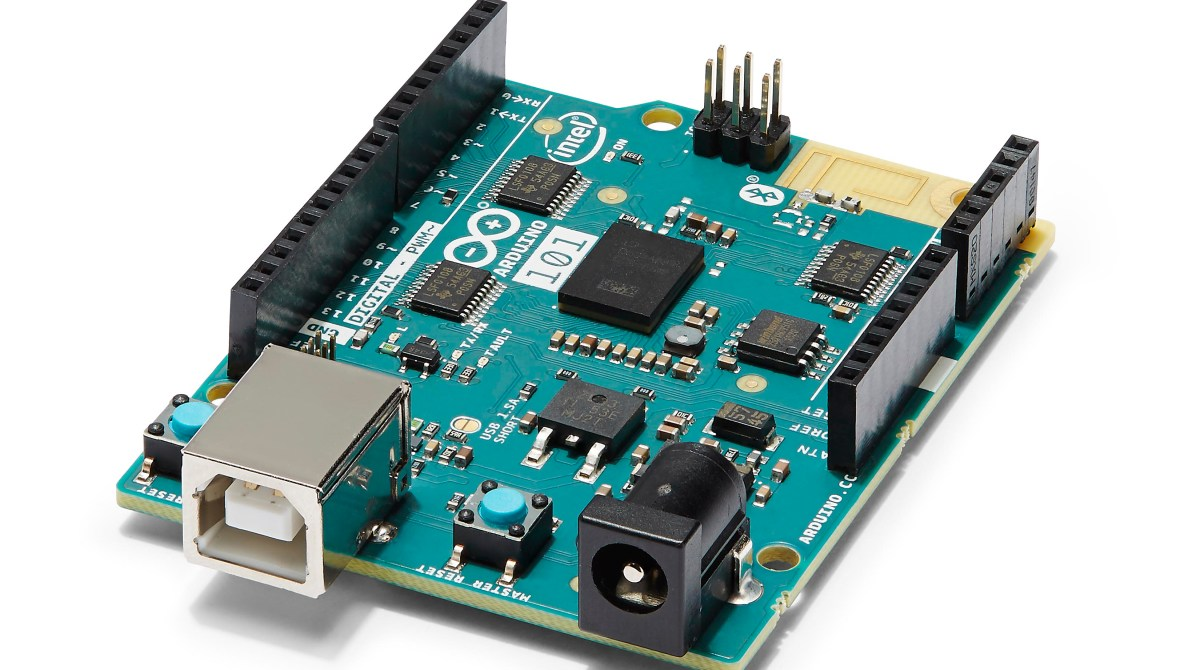 $30 Gets You the Sensor-Packed, Curie-Powered Arduino 101