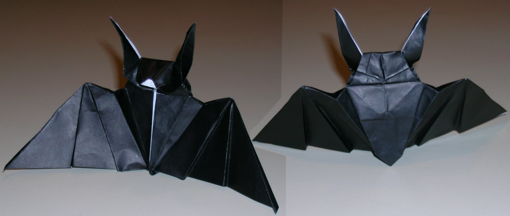 Try Your Hand At Origami Bats Make
