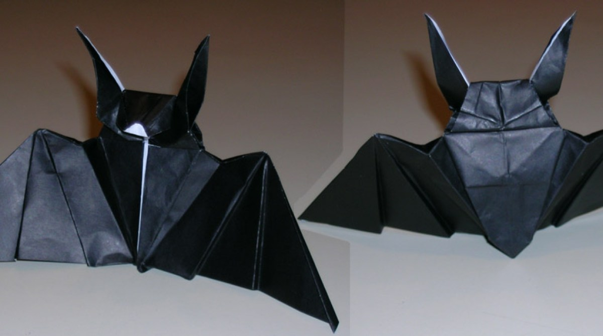 Try Your Hand at Origami Bats