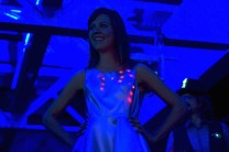 LED-embedded dress