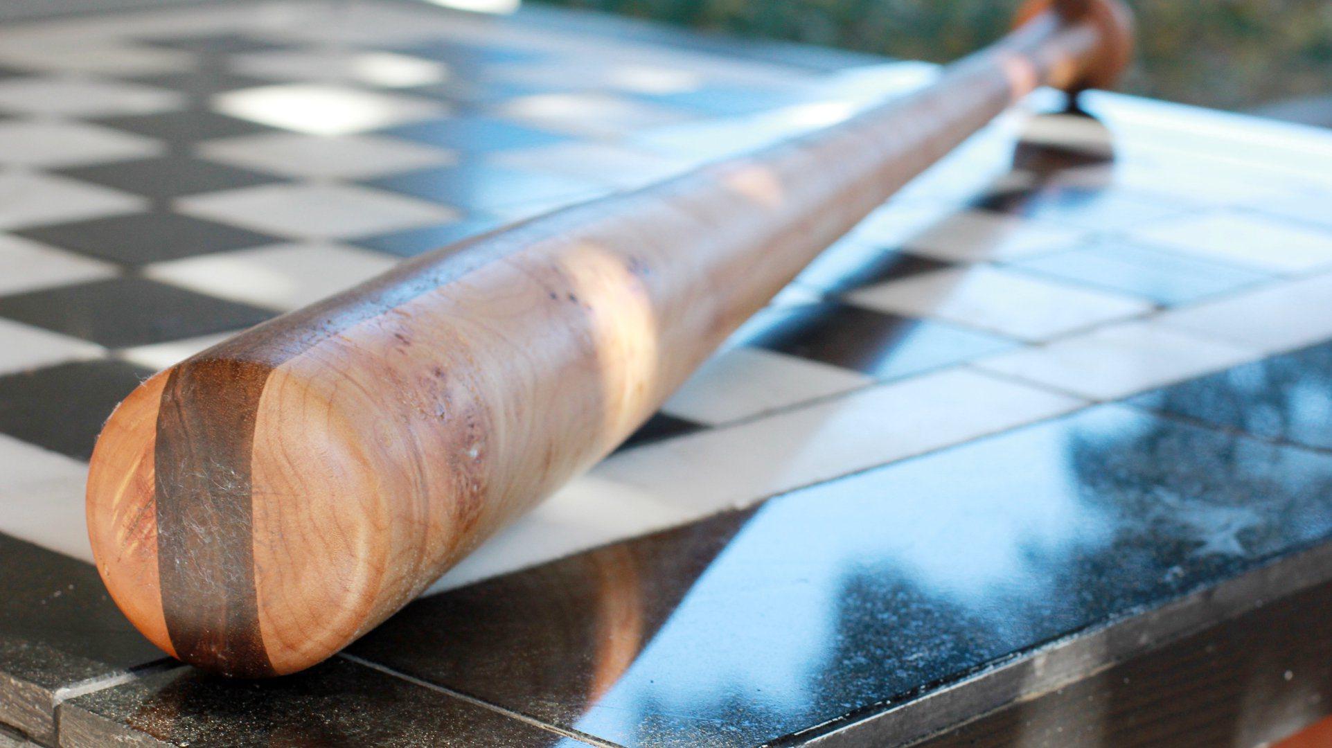 Darbin Orvar: A Baseball Bat from Rough Lumber