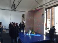 LED Climbing Wall from students at Berufskolleg Rheine.