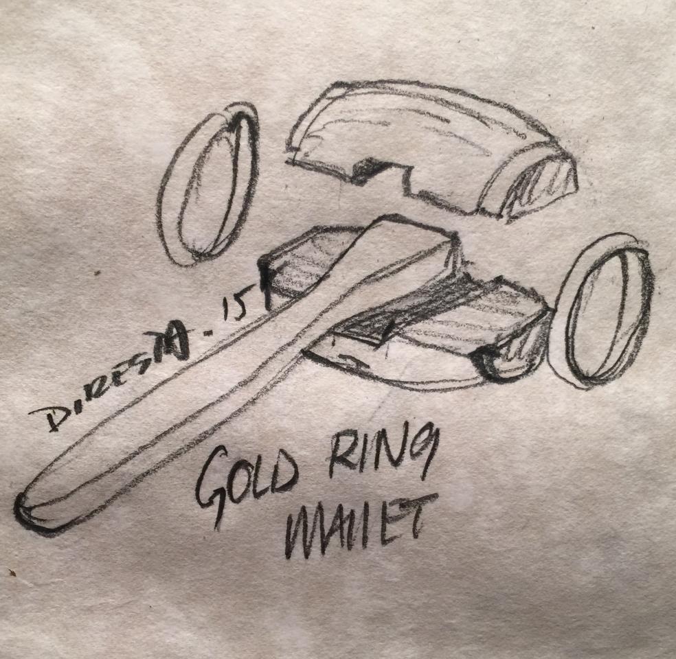 DiResta: Gold Ring Mallet