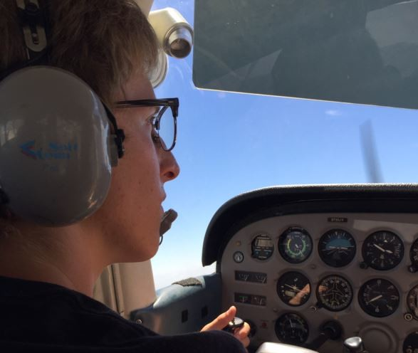 Told He Couldn't Pilot, Teen Builds Full-Scale Flight Sim in His Room