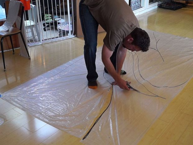 Learn Plastic Welding with Giant Inflatable Tentacles