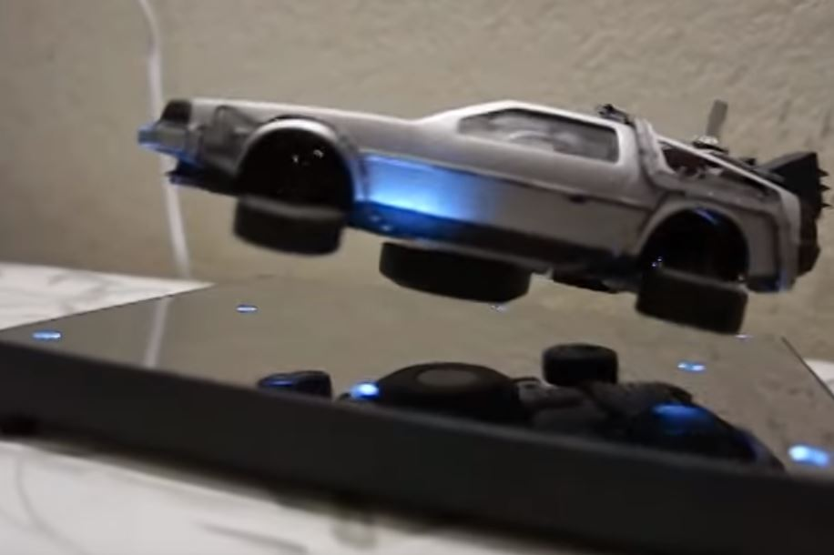 The Easiest Way to Levitate a DeLorean