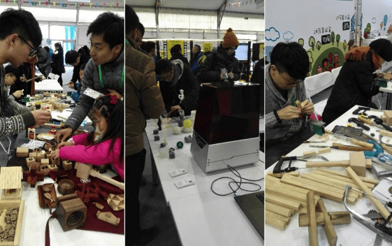 Innovation and Tradition Blend at the First Beijing Mini Maker Faire