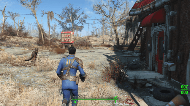Fallout 4 Third-Person View