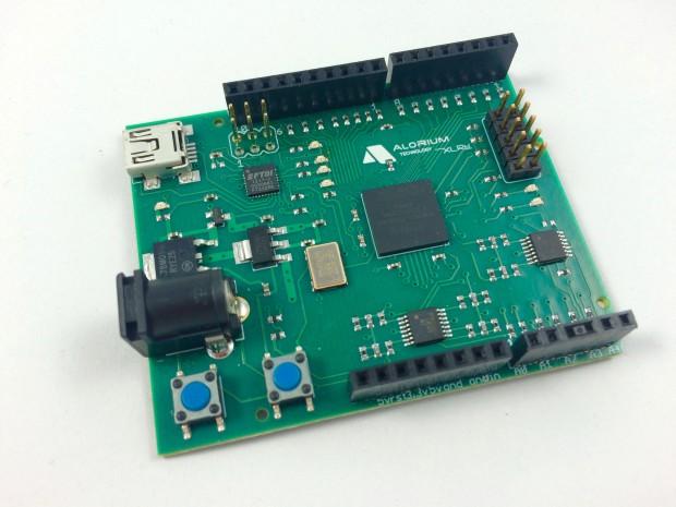 The new XLR8 board.