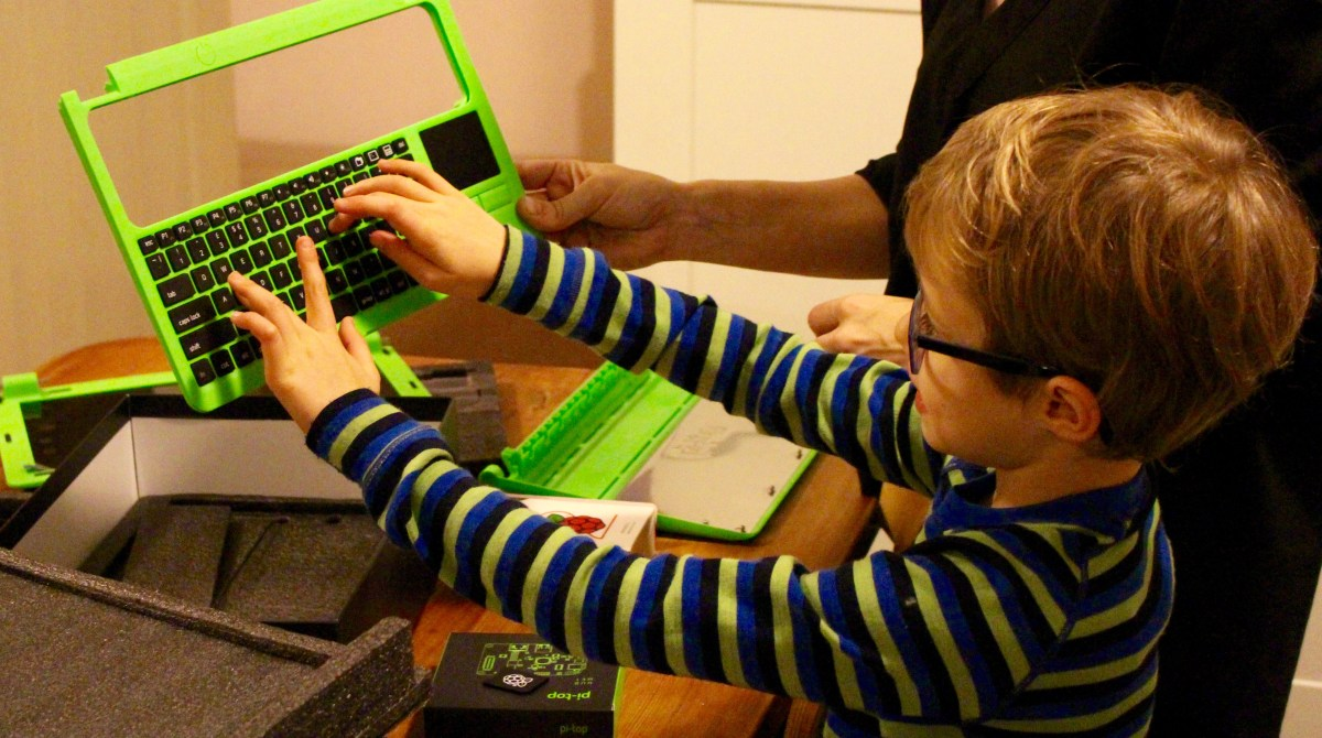 Hands on with Pi-Top, the Raspberry Pi Powered Laptop