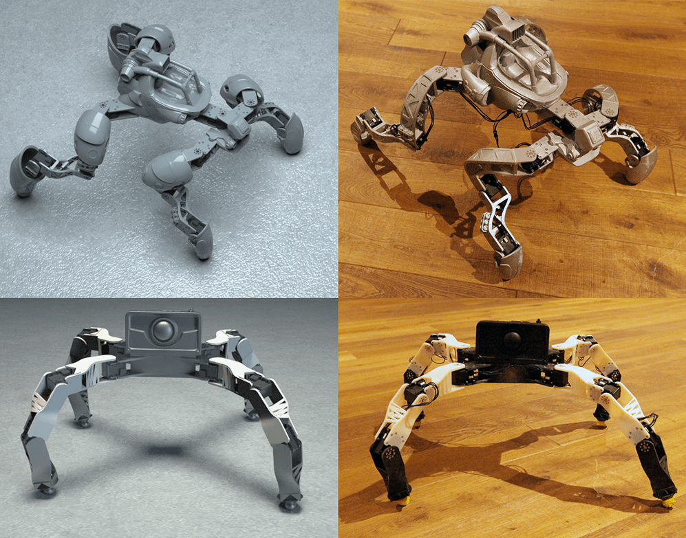 Design Tool for 3D-Printable Robots from Disney Research