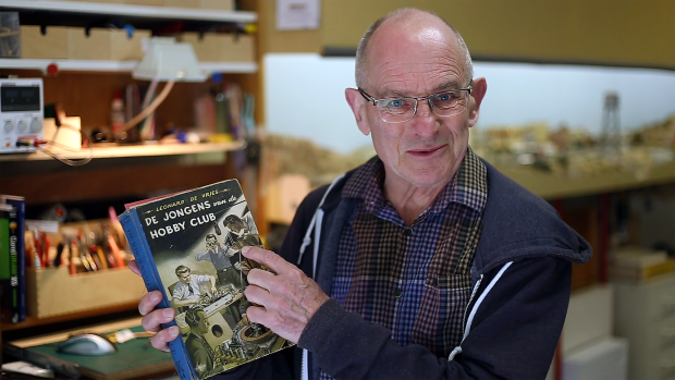 Bart shares a book from his childhood that inspired him to start making.