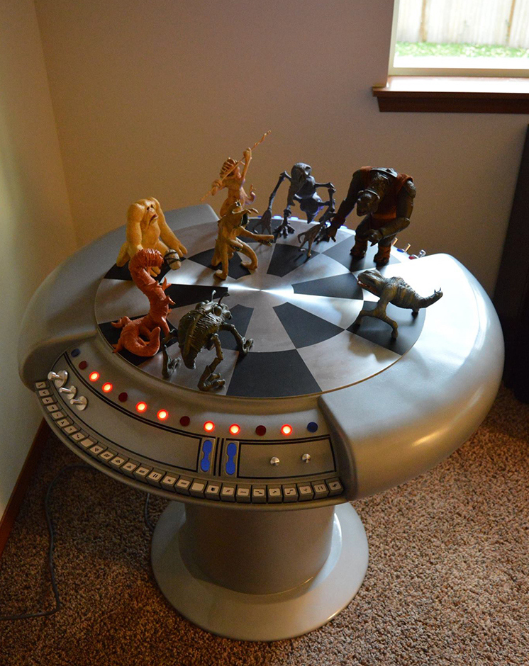 Project Update: Working Star Wars Dejarik Table Finally Here!