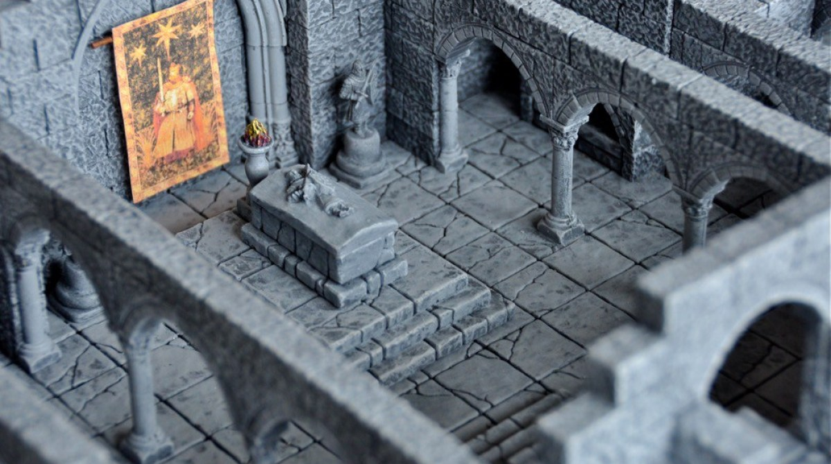 Casting Your Own Dungeons for Role-Playing Gaming | Make: