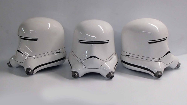 Shawn Thorsson's Flametrooper helmet replica pays homage to the upcoming Force Awakens instalment of Star Wars