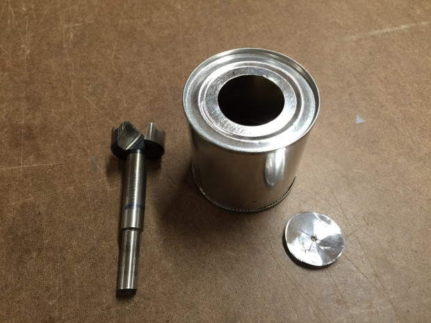 Drilled can top