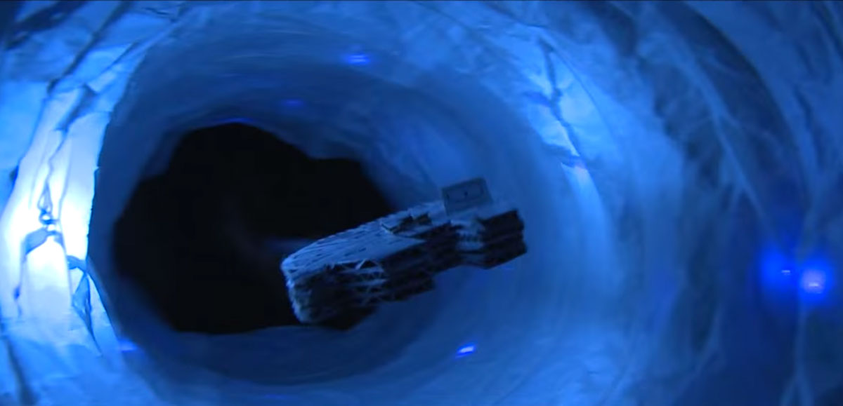 Watch This DIY Star Wars Trailer made with Cardboard and Straws