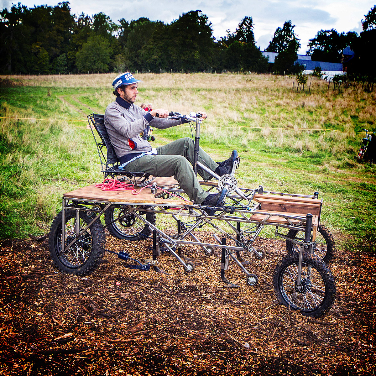 This Pedal-Powered Tractor Takes the Fuel Out of Farming