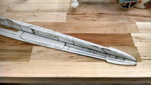 X-Wing Nose Detail