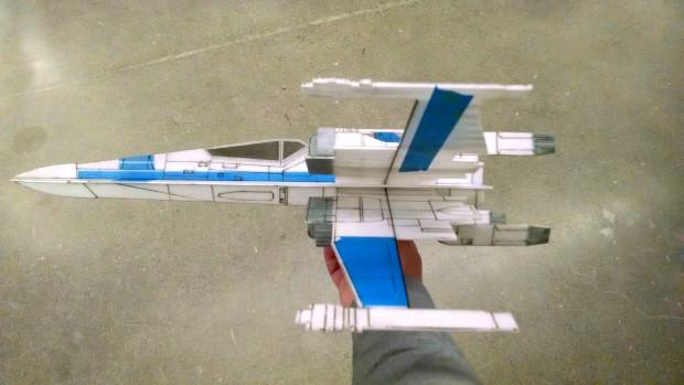 Assembled X-Wing, No electronics