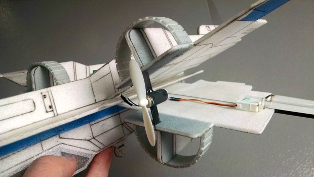 Adding X-Wing Motors