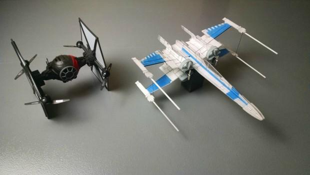 R/C X-Wing vs. TIE Fighter