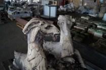 Just a couple goat gargoyles