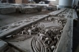 Close up of architectural stuff in storage