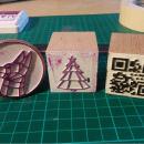 3D Print Custom Stamps Using Inkscape and OpenSCAD