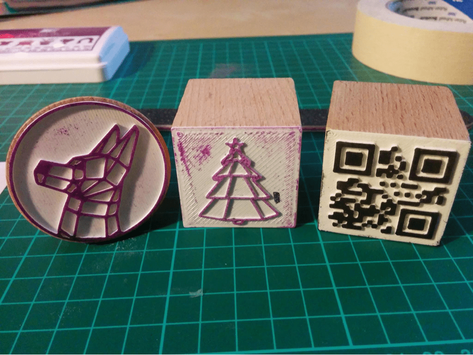 3d Print Custom Stamps Using Inkscape And Openscad Make