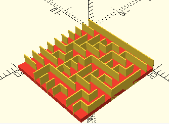 Use Math to Design Mazes in OpenScad — Games | Make: