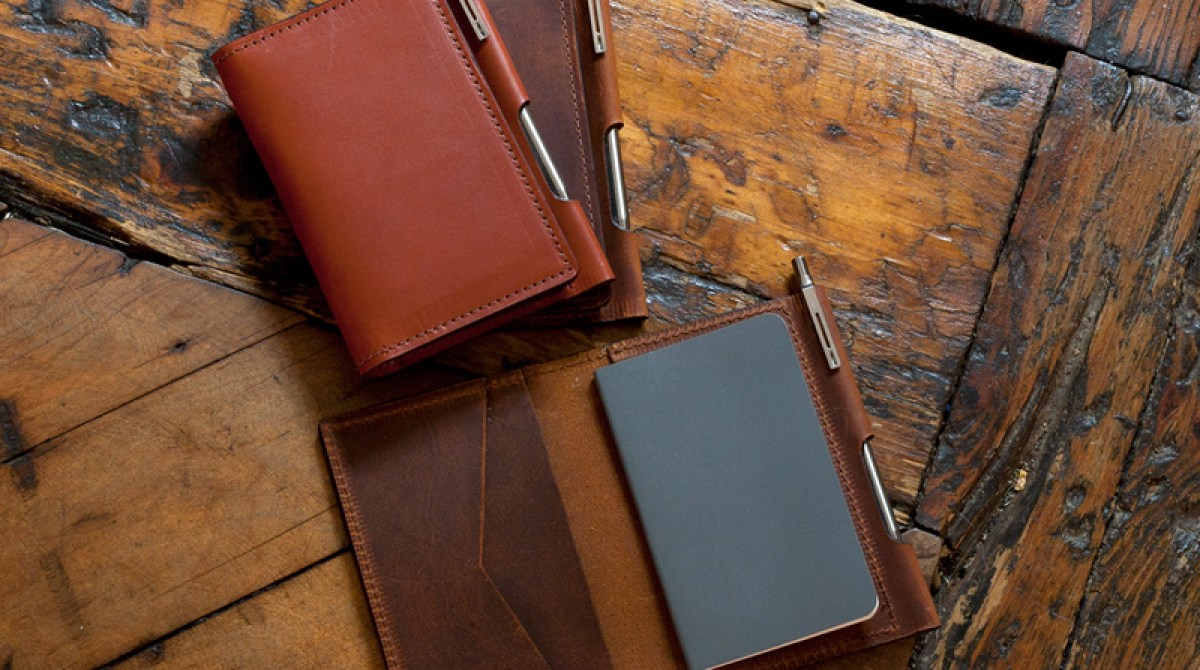 See How These Beautiful Leather Notebook Cases Were Crafted