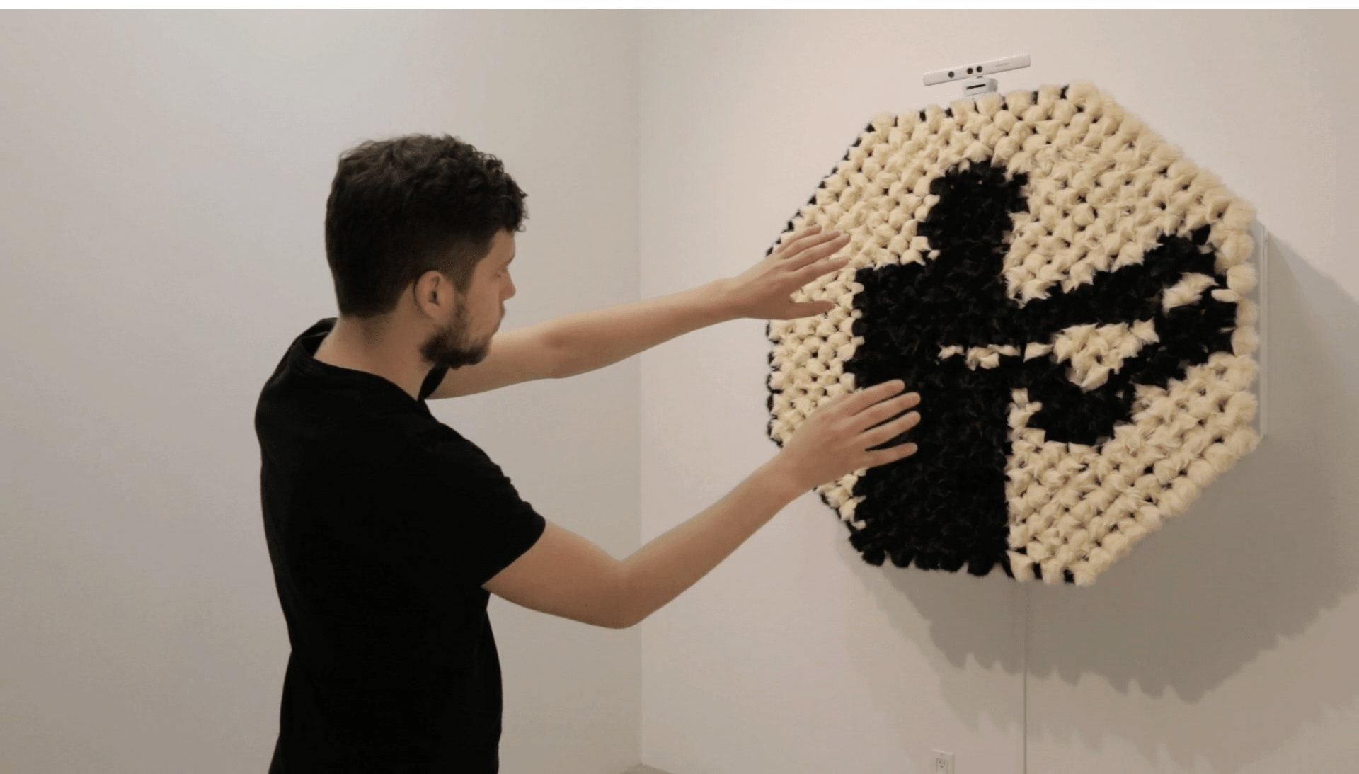 This Mirror Is Made of Hundreds of Pompoms