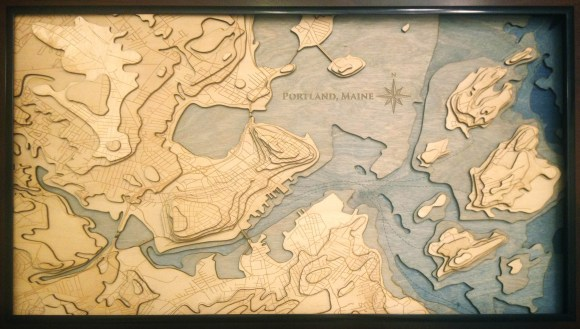 Image Result For Laser Cut Topographic Maps