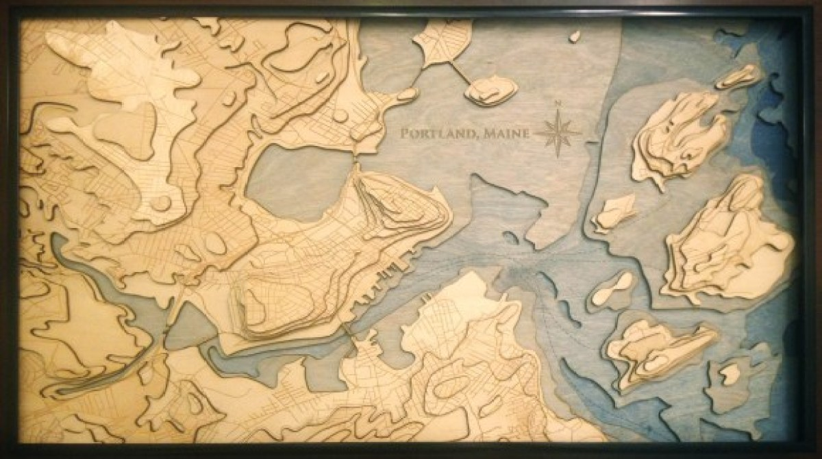 How To Make A 3d Topographic Map.Want To Make A Topographical Map This Artist Shows You How Make
