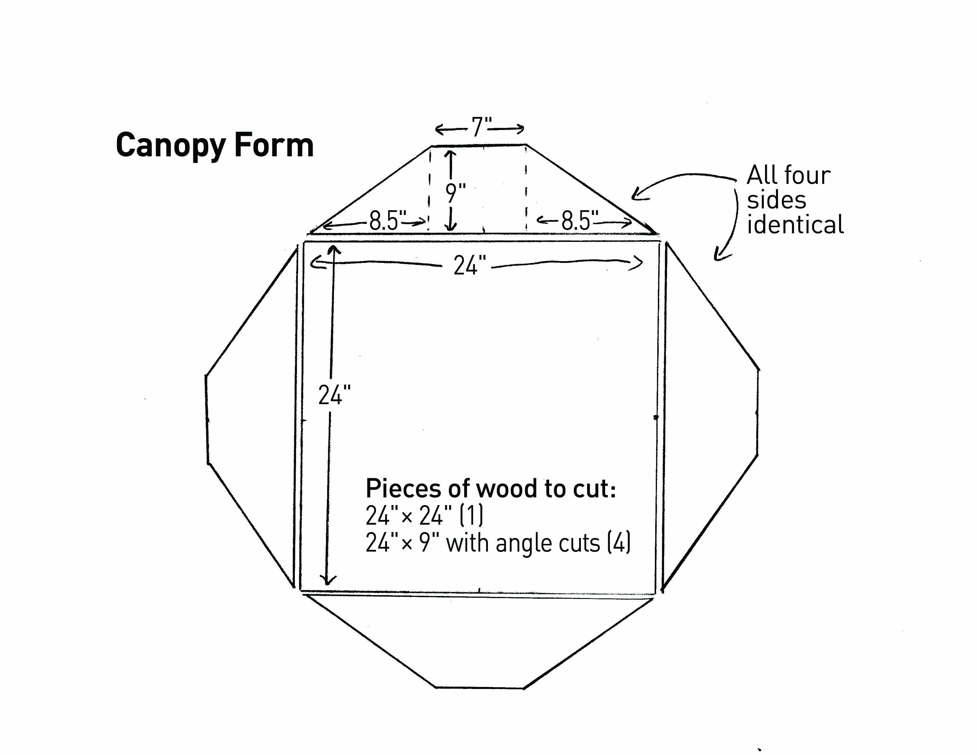 Build Custom Molds To Pour A Concrete Japanese Lantern