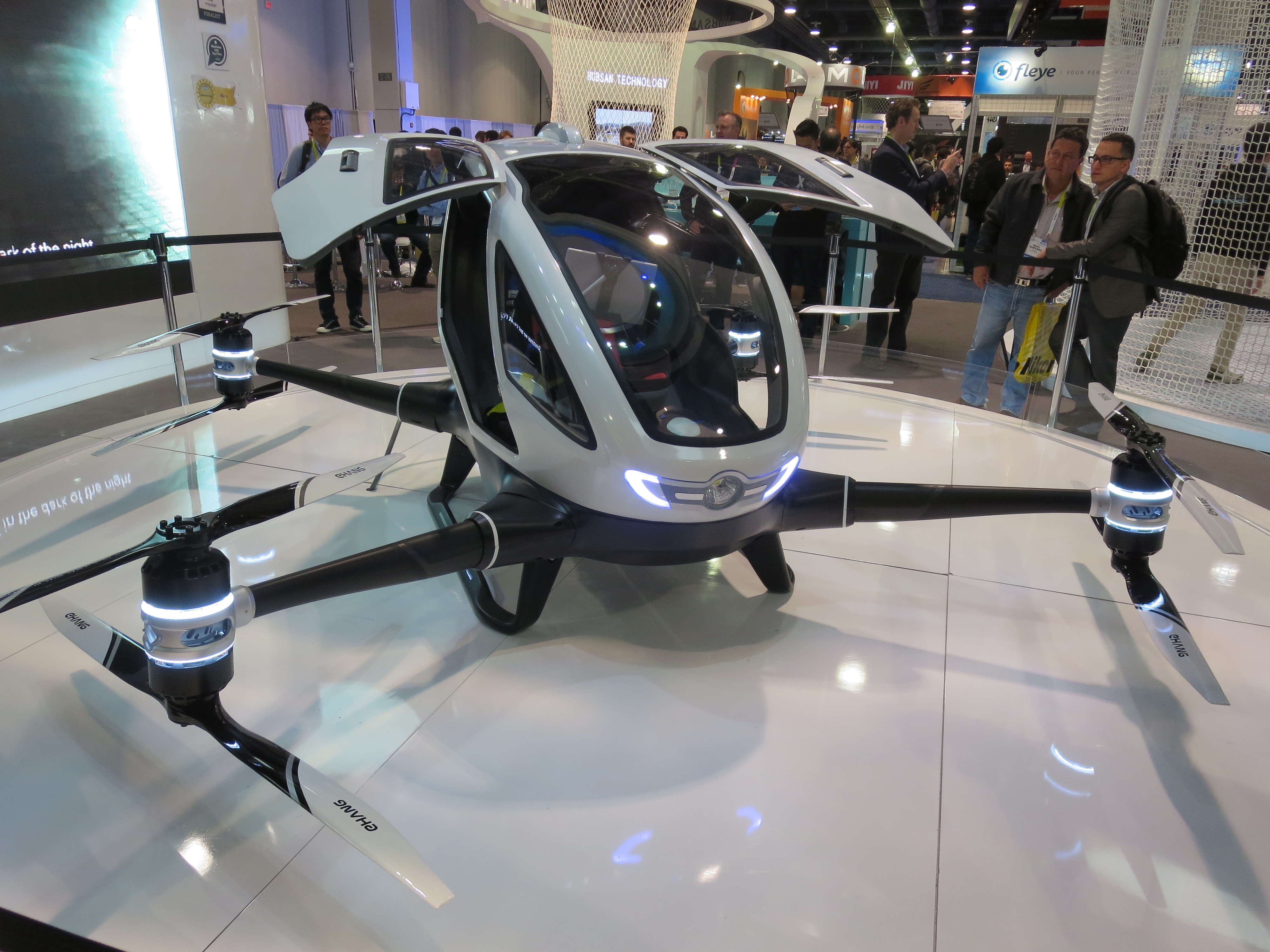 Self-Driving Cars Are So 2015: Get There in a Self-Flying 'Copter