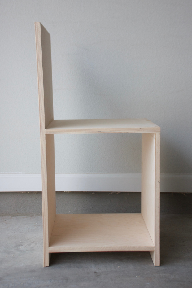 Minimalist Chair build a minimalist chair out of plywood | make: