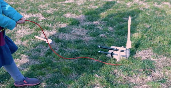 Make air powered rocket with help from Sprout by HP.