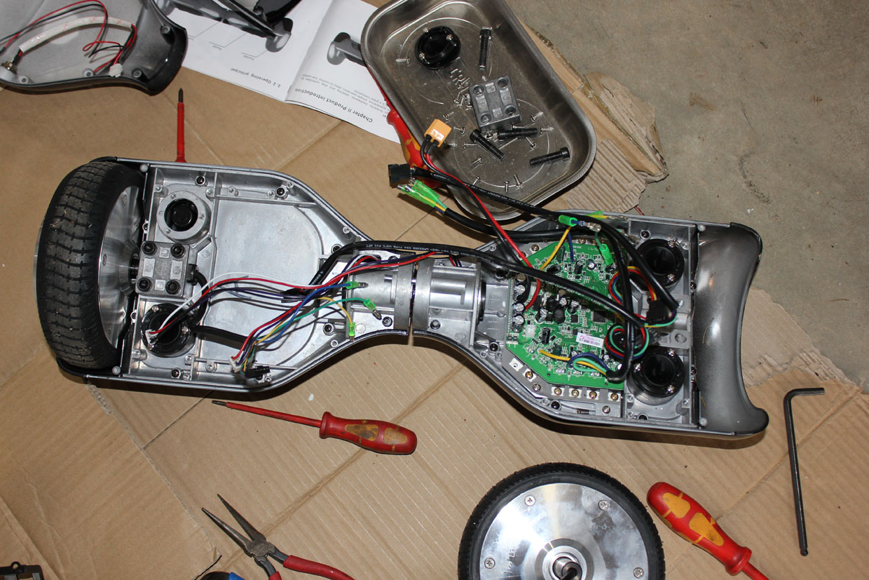 Don't Throw Out That Broken Hoverboard — Salvage the Parts for a Project