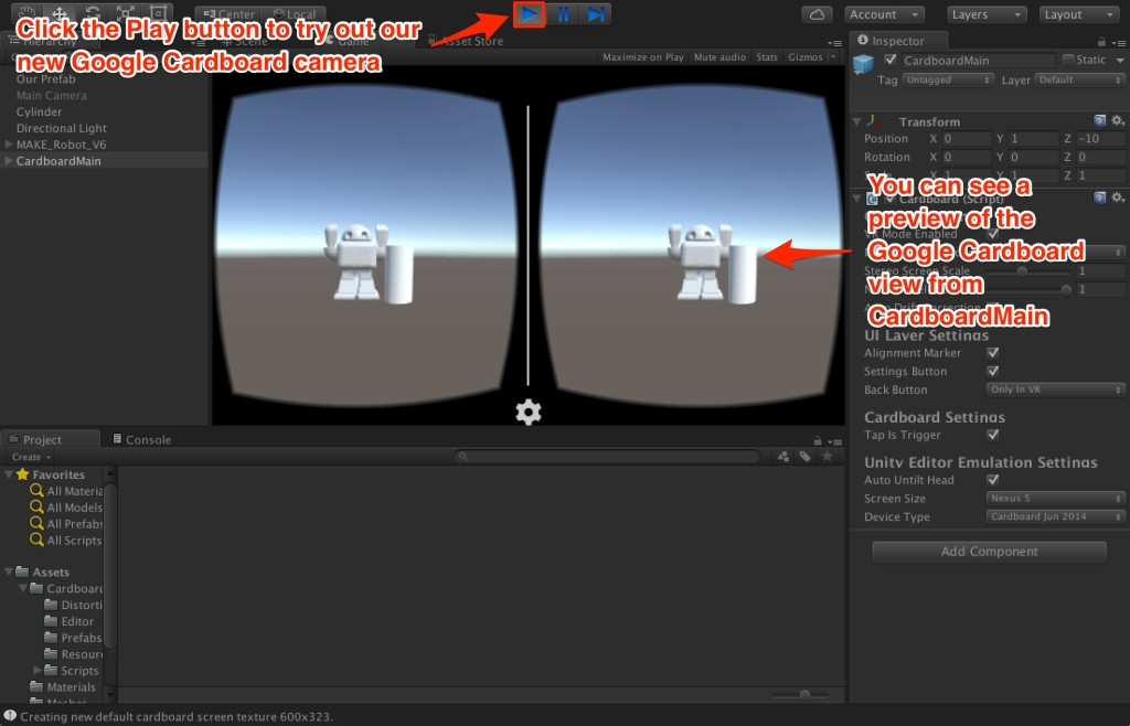 Getting Started with Virtual Reality: Building for Google Cardboard