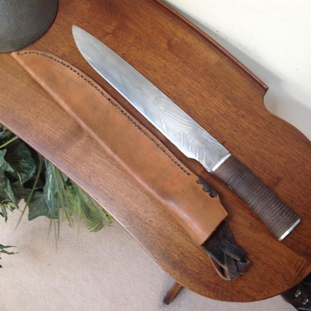 Knife of Damascus steel - Everest Gromoll