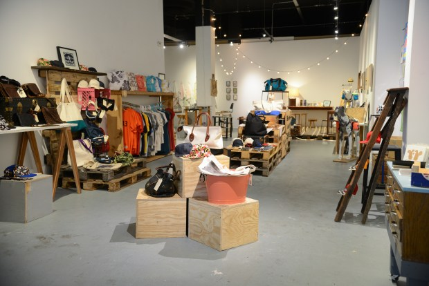Made in Baltimore Pop Up Shop, August, 2015. Photo by Andy Cook.