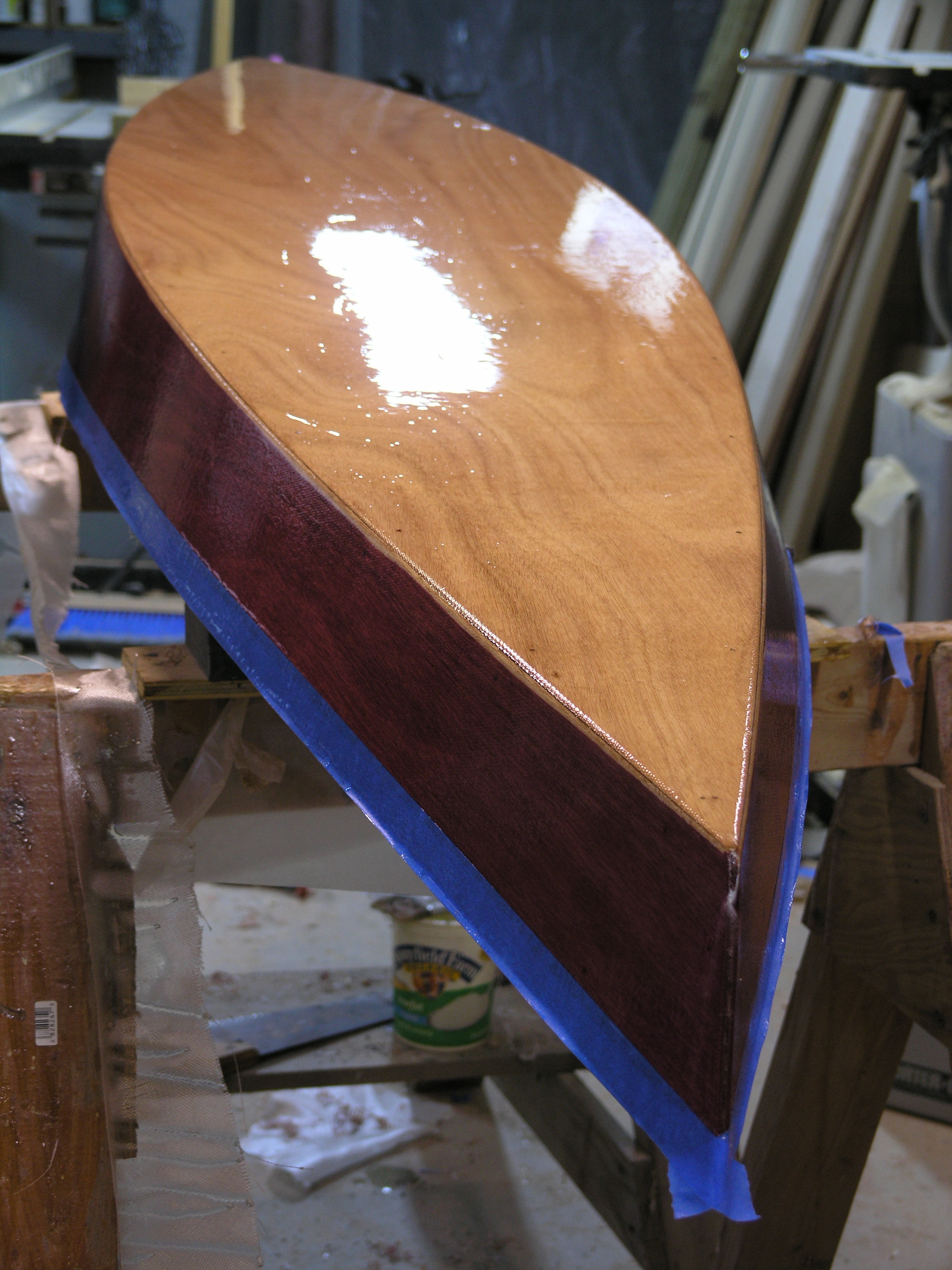 Building A Child Sized Kayak From A Single Sheet Of