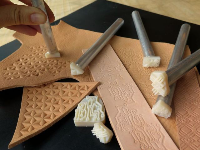 How to 3D Print Your Own Leather Tooling Stamps