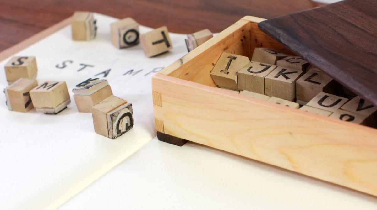 darbin orvar carve your own rubber stamp alphabet make